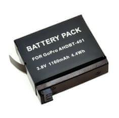 TRX Baterie AHDBT-401 - Li-Ion 1160mAh 4,4Wh