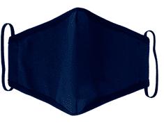 Rouška dětská, vel. 2-6 LET, 2 vrstvá, kapsička na filtr, modrá ( NAVY )