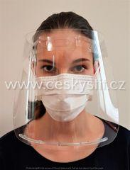 Obličejový ochranný štít pro dospělé