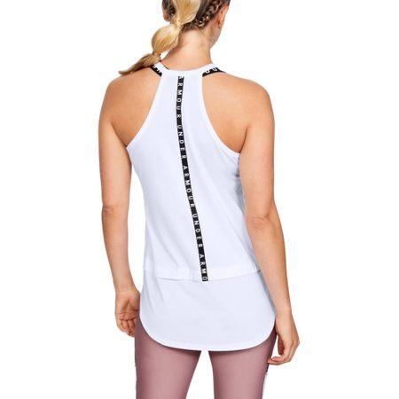 Under Armour Armour Tank ženska majica, brez rokavov, S, bela
