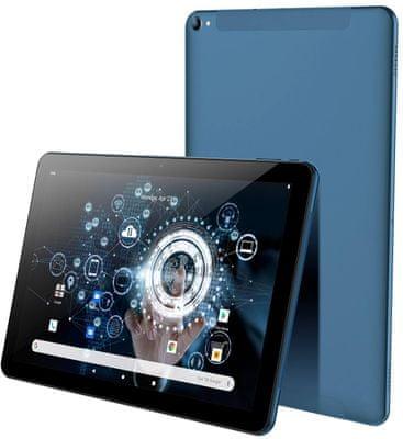 Tablet iGet SMART L104, odemykání obličejem, velký displej, 10 palců