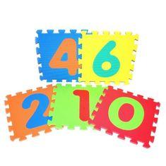 Wiky Mäkké puzzle bloky číslice 30x30cm