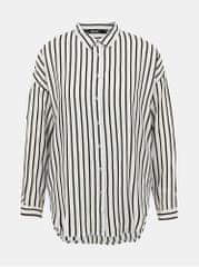 ZOOT černo-bílá dámská pruhovaná košile Bryony