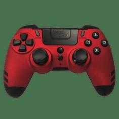 Steelplay MetalTech Red brezžični igralni plošček (PS4)