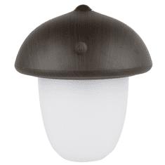 GOLDSUN Vezeték nélküli lámpa 1926 - Gomba - Sötét fa - 2200 mAh