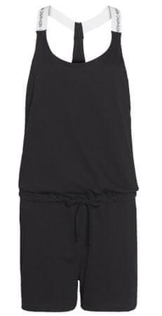 Calvin Klein ženska obleka KW0KW01003 Romper, S, črna