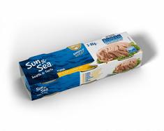 Sun&Sea Tuniak v slnečnicovom oleji 3 pack 16 × 240 g