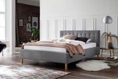 We-Tec Single posteľ MALIN, 2 rozmery, 2 farby, bez roštov a matracov