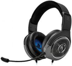 PDP AG6 PS4 slušalke, črne