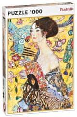 Piatnik Klimt - Dama s lepezom, 1000 dijelova