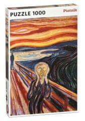 Piatnik Munch - Výkrik 1000 dielikov