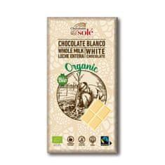 Chocolates Solé Bílá bio čokoláda