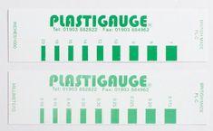 Plastigauge Plastigage 0,175-0,5 mm