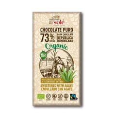 Chocolates Solé 73% bio čokoláda s agáve