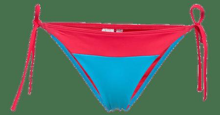 Tommy Hilfiger ženski spodnji del kopalk UW0UW02079 Cheeky String Side Tie Bikini, S, roza
