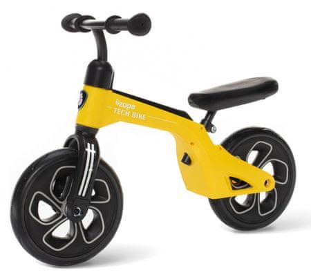 ZOPA Pedál nélküli gyerekkerékpár, Tech Bike, sárga