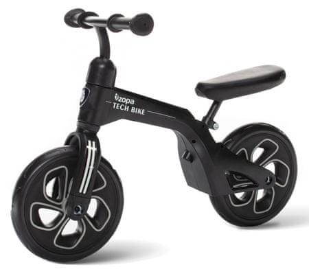 ZOPA Pedál nélküli gyerekkerékpár, Tech Bike, fekete