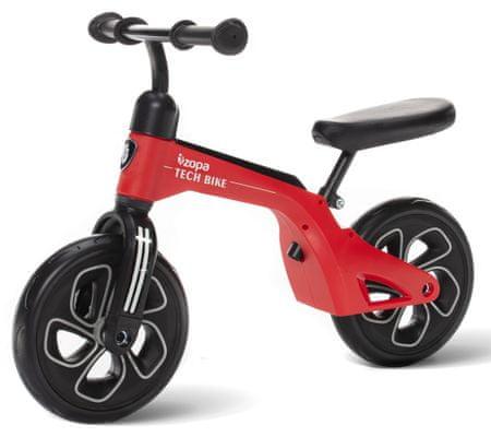 ZOPA Pedál nélküli gyerekkerékpár, Tech Bike, piros