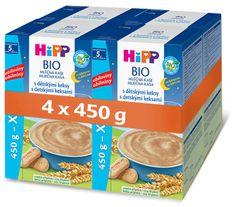 HiPP BIO Mliečna kaša na dobrú noc s detskými keksami 4 × 450 g