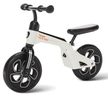 ZOPA Pedál nélküli gyerekkerékpár, Tech Bike, fehér