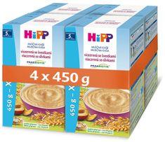 HiPP Mliečna kaša PRAEBIOTIK viaczrnná so slivkami 4 x 450 g