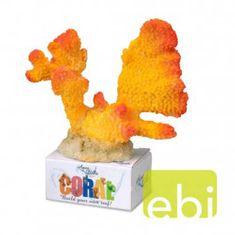 EBI AQUA DELLA CORAL MODULE L cauliflower coral yellow-orange 16x15x8,3cm