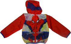 Disney Chlapecká červená bunda Superman.