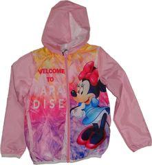 Disney Dívčí růžová bunda s Minnie.
