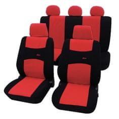 Cappa Autopoťahy COLORI čierna/červená
