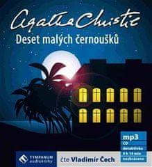 Christie Agatha: Deset malých černoušků - MP3-CD