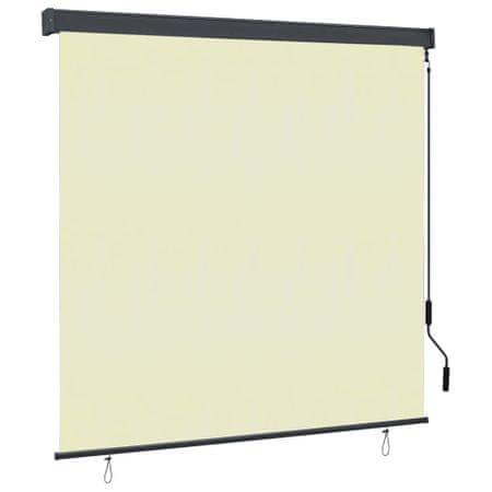 shumee krémszínű kültéri roló 170 x 250 cm