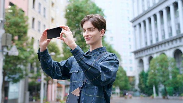 Sony Xperia 10 II, trojitý ultraširokoúhlý fotoaparát, teleobjektiv, noční režim, optický zoom, PDAF