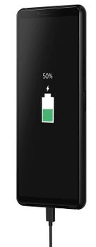Sony Xperia 10 II, velká kapacita baterie, dlouhá výdrž, rychlé nabíjení, Quick Charge 3.0