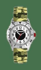 CLOCKODILE Svítící maskáčové sportovní chlapecké hodinky CLOCKODILE SPORT 3.0