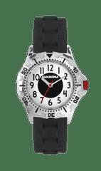 CLOCKODILE Svítící černé sportovní chlapecké hodinky CLOCKODILE SPORT 3.0