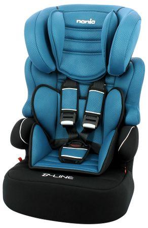 Nania otroški avtosedež BeLine SP Luxe 2020 Blue, moder