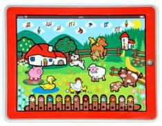 Teddies Tablet farma Moje prvé zvieratká