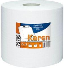 Grasant Papírové průmyslové utěrky KAREN XXL 72795 2-vrstvé bílé