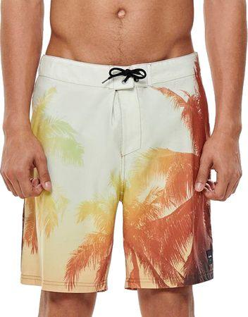 ONLY&SONS Moške plavalne kratke hlače Press Board Plavalne shorts Nt 2472 Olive Branch (Velikost S)