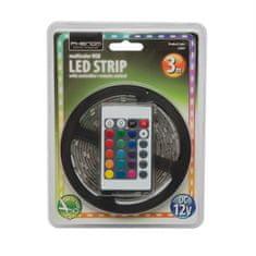 PHENOM RGB LED trak 3m 5050 IP65 7,2W/m s kontrolerjem in napajalnikom