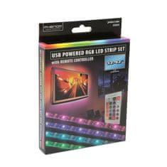 """PHENOM USB RGB LED trak za TV z daljincem 32"""" - 42"""" - 2 x 37 cm, 2 x 70 cm"""