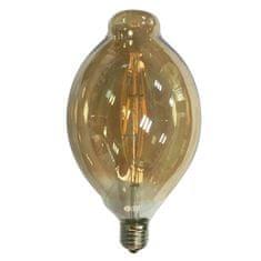 Diolamp Retro LED Filament žárovka Amber Decor PLOVI P118 6W/230V/E27/2700K/590Lm/360°/DIM