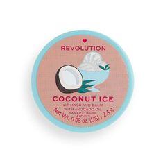 I Heart Revolution Ajakápoló maszka Coconut Ice (Lip Mask and Balm with Avocado Oil) 2,4 g