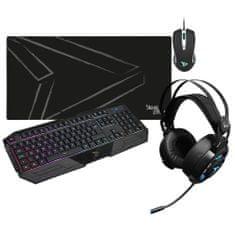 Steelplay Mega Gaming Pack namizni komplet, miška + tipkovnica + slušalke + podloga za miško (PC)