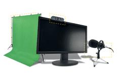 Steelplay Pro HD Streamers 4-in-1 Pack komplet, mikrofon, kamera, zaslon, stojalo