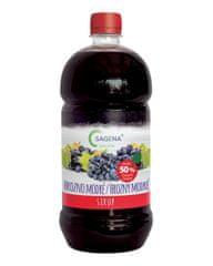 SAGENA Sirup s podielom min. 50% ovocia - Hrozno modré 1L