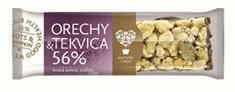 NATURELAND TYČINKA ořechy a dýňové semínko 56% 35g
