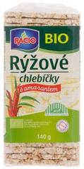 RACIO Racio Bio Rýžové chlebíčky s amarantem 140g