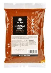 MUSO Miso genmai hnědá rýže 400g