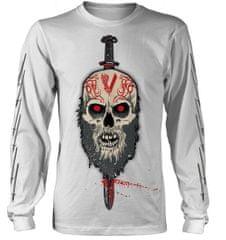 CurePink Pánské tričko Vikings: Berserker (S) bílé